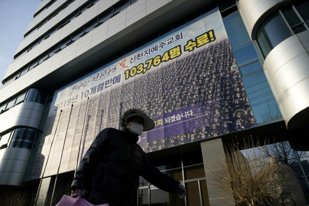 The Shincheonji Church of Jesus the Temple of the Tabernacle of the Testimony drew global media attention earlier this year after being linked to a sudden spike in coronavirus infections in South Korea. ― Reuters pic