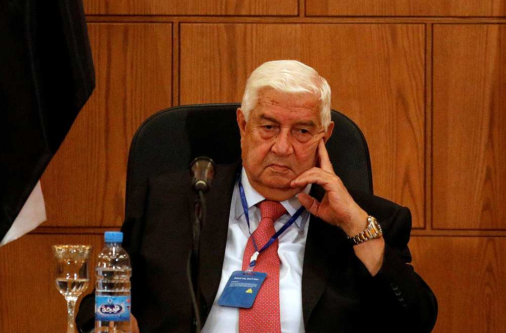 Syrias foreign minister Walid Muallem dies