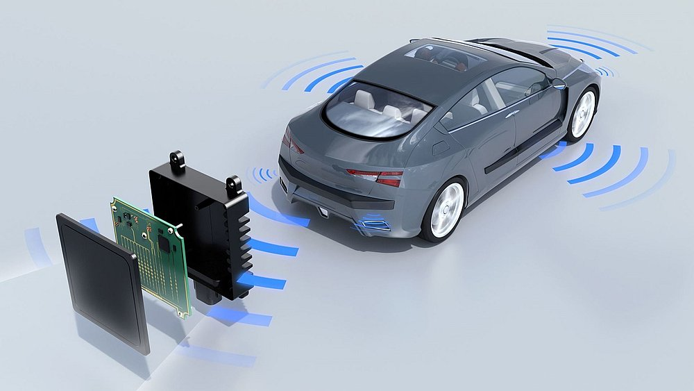 BASF has unveiled new material to protect sensors and radars embedded in cars. — Picture courtesy of BASF via AFP