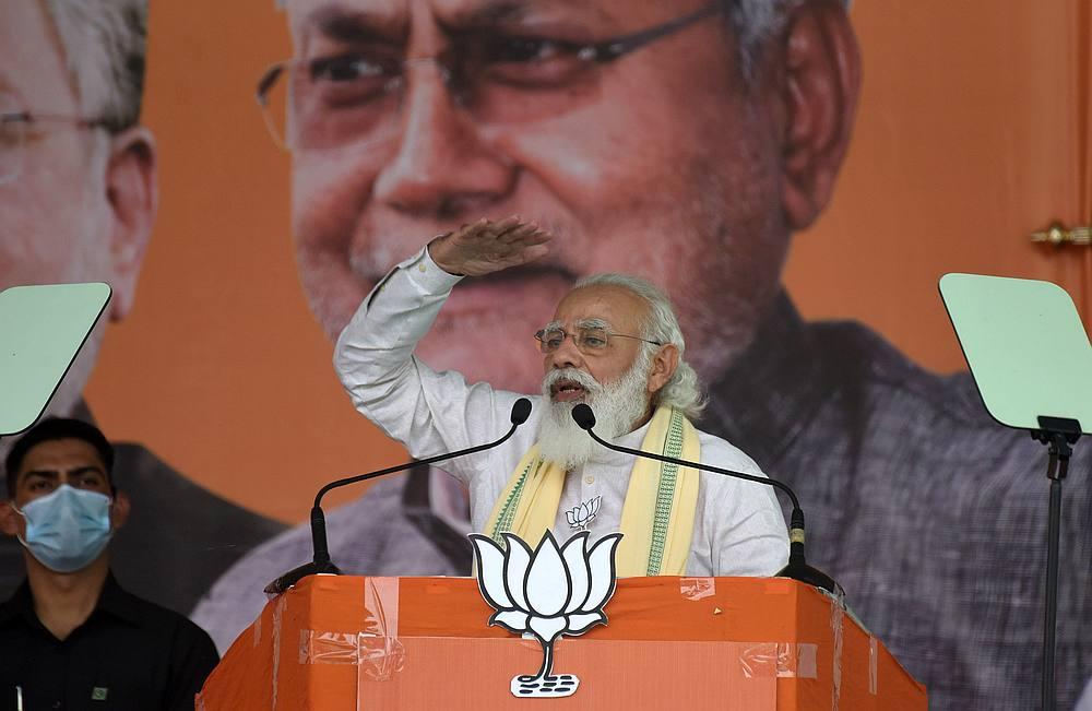 Modi's alliance retains key India state Bihar after close poll fight