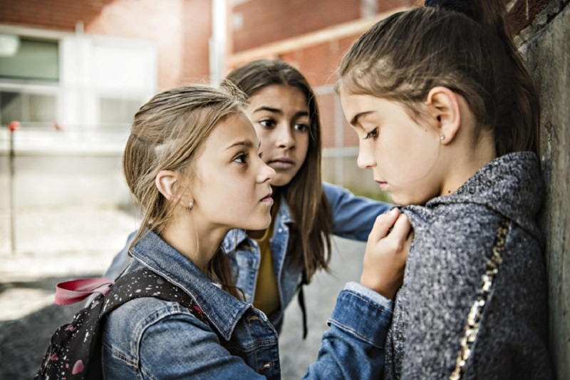 Research showed that being a victim of repeated bullying was an additional risk factor for developing violent behaviour at home and/or at school. ― IStock.com/AFP pic
