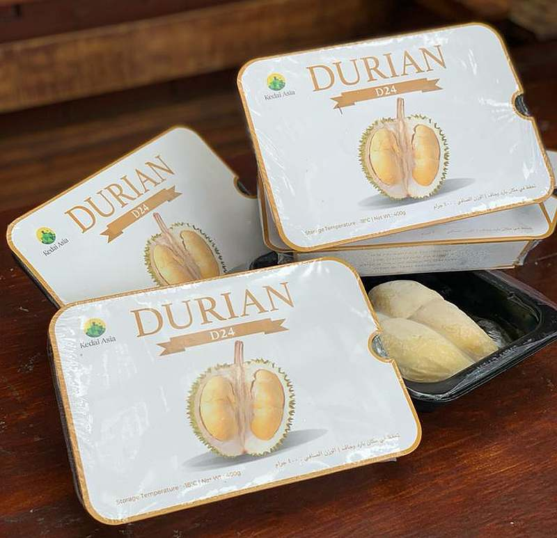 For the first time, Malaysian D24 durians will be made available in Saudi Arabia and distributed by Kedai Asia — Picture courtesy of Kedai Asia