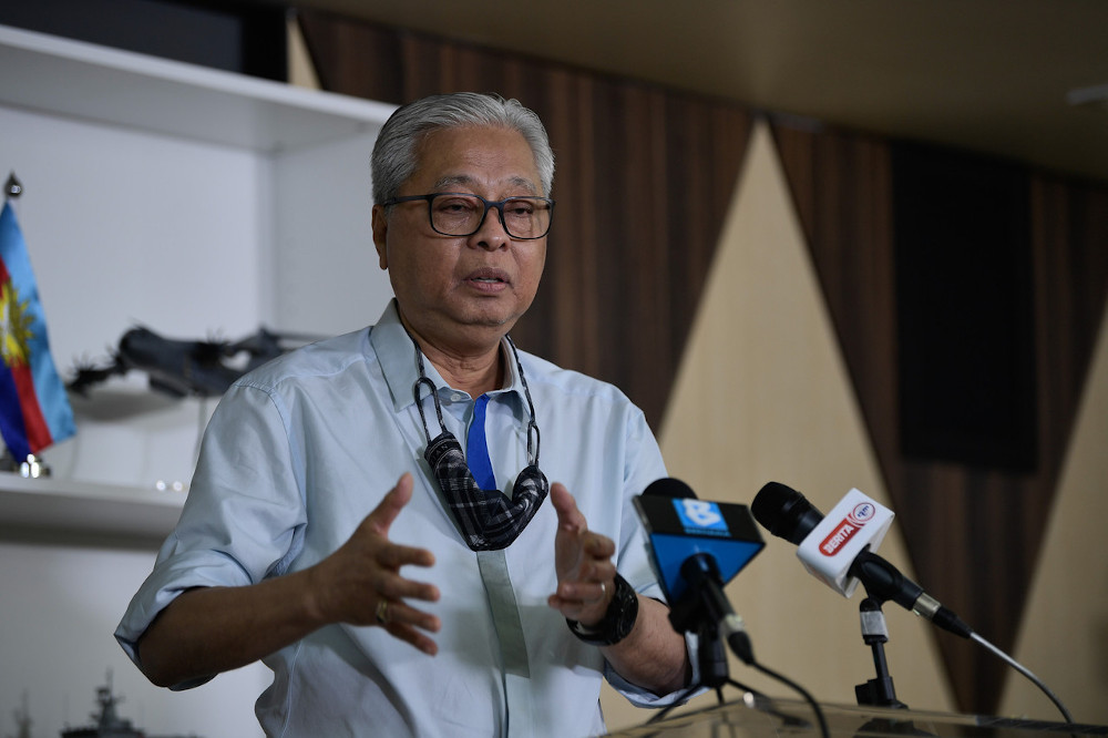 Senior Minister (Security Cluster) Datuk Seri Ismail Sabri Yaakob advised the people to refrain from panic buying following speculations that the government would be reimplementing the Movement Control Order (MCO) nationwide.. — Bernama pic