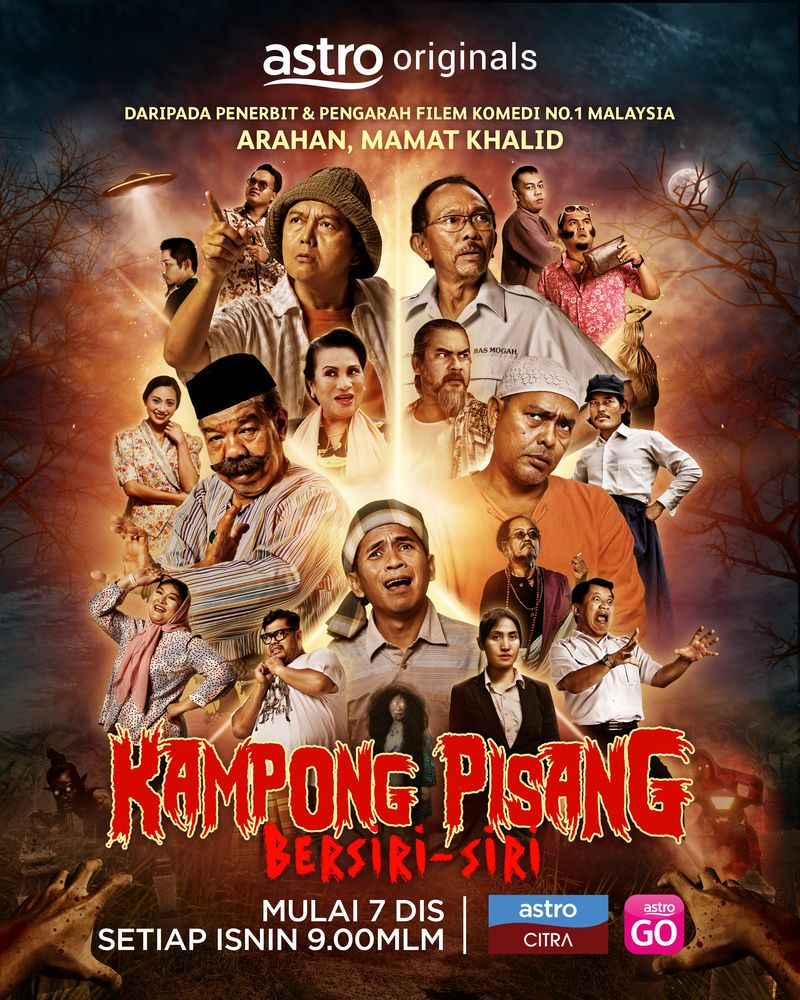 'Kampong Pisang Bersiri-Siri' will premiere this December 7 at 9pm on Astro Citra HD and Astro Ria HD. — Photo courtesy of Astro Malaysia