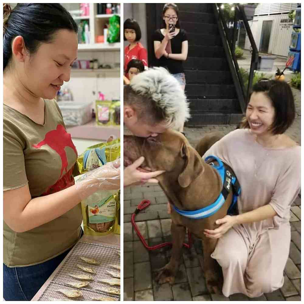 SY Cheah (left) and her friend Elizabeth Lim hopes to raise RM15,000 to help Meefah Shelter. — Photo courtesy of SY Cheah
