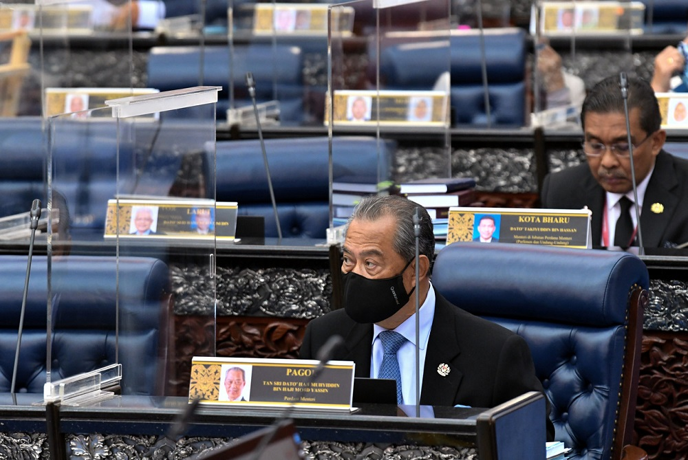With several recent opinion polls tilting favourably towards Prime Minister Tan Sri Muhyiddin Yassin, Mohamad suggested that blocking the Budget would have been akin to political suicide. ― Bernama pic
