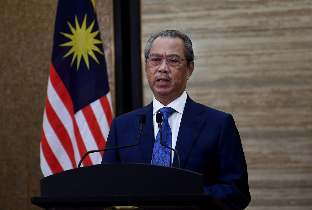 Prime Minister Tan Sri Muhyiddin Yassin says the government will continue to cultivate an ecosystem that enables businesses to thrive and make Malaysia an attractive investment destination. ― Bernama pic