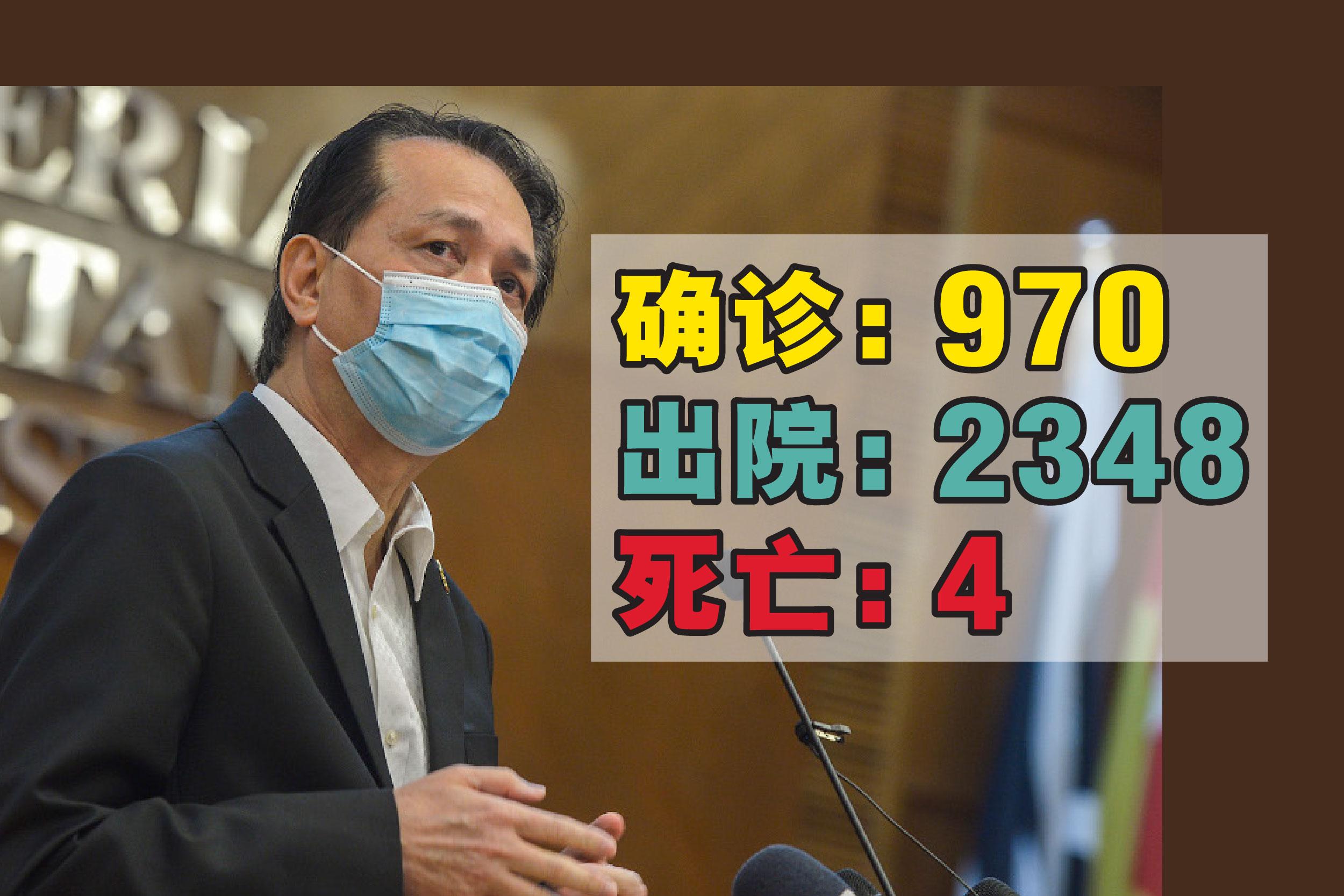 诺希山说,今天康复人物再刷新最高纪录,共有2348人治愈出院。-精彩大马制图-