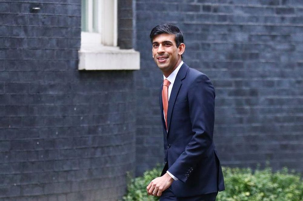 Rishi Sunak arrives at Downing Street 10 in London, Britain February 13, 2020. — Reuters pic