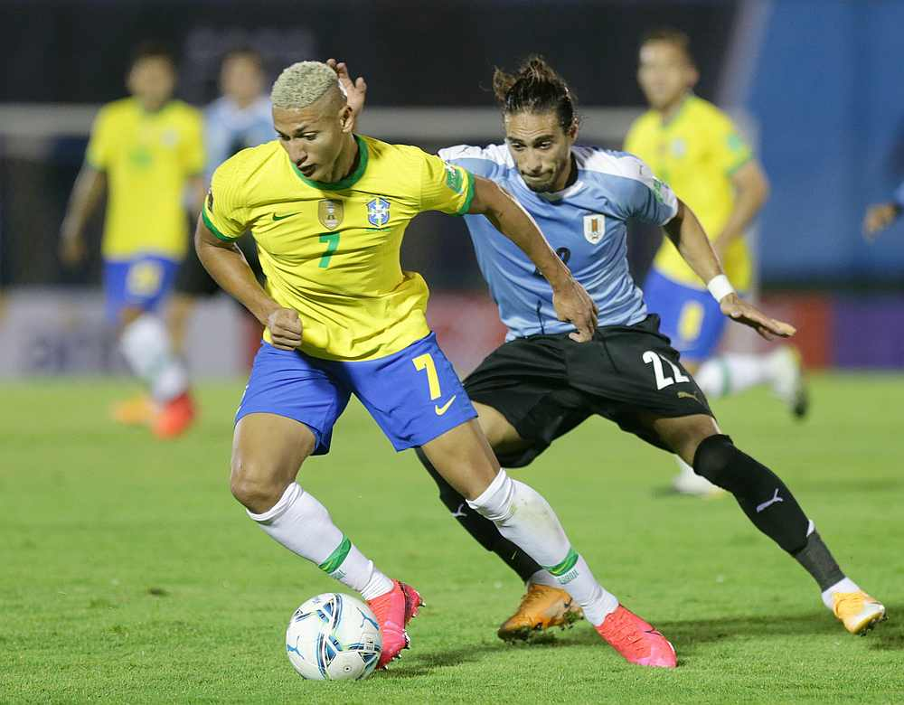 Uruguay vs. Brazil - Football Match Report