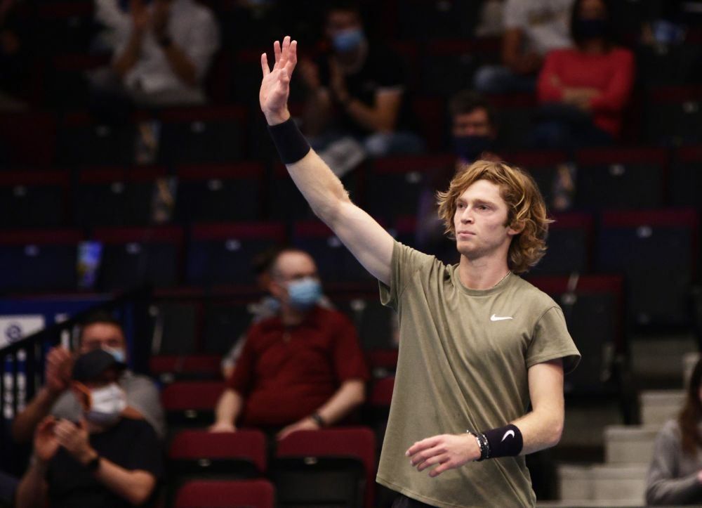 The 23-year-old Rublev saved all six break points he faced against Fritz and will next play Hungarian Marton Fucsovics. — Reuters pic