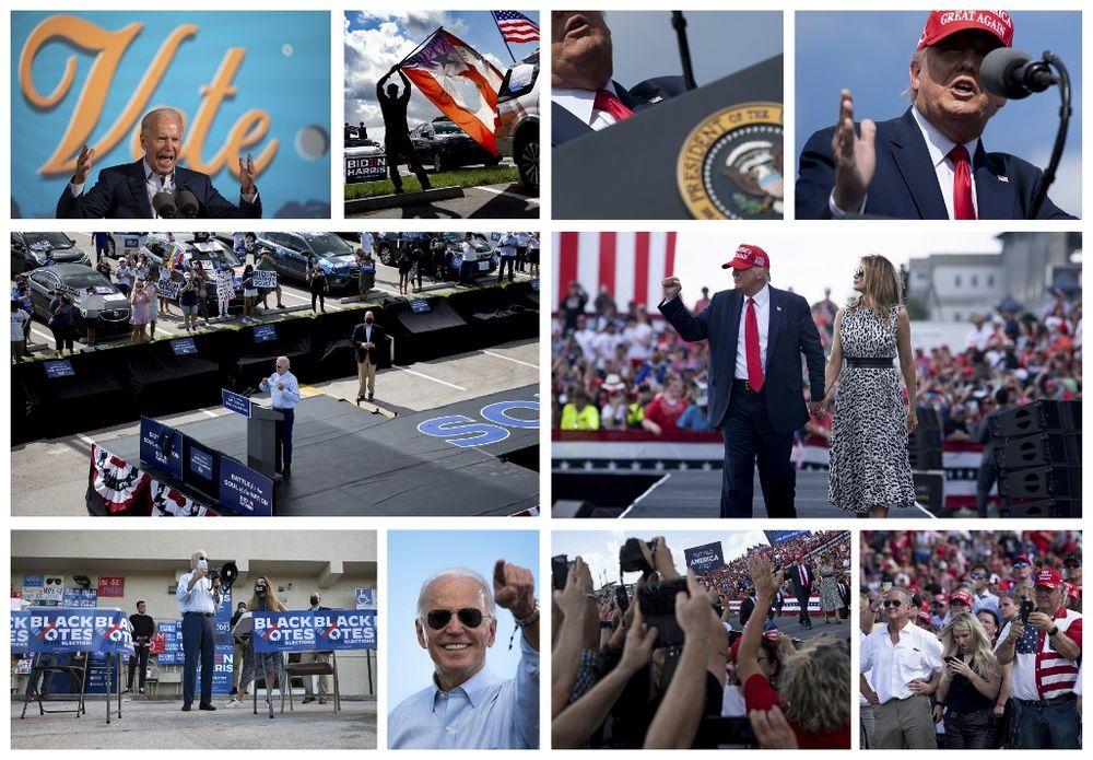 Trump, Biden hit key states on final weekend before vote