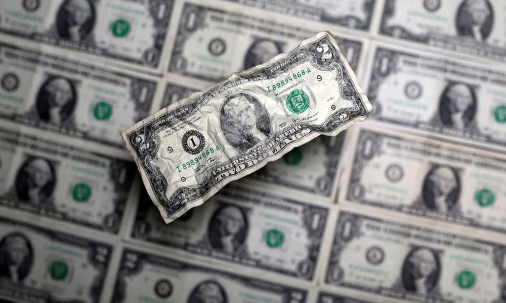 US dollar banknote is seen in this picture illustration taken May 3, 2018. — Reuters pic