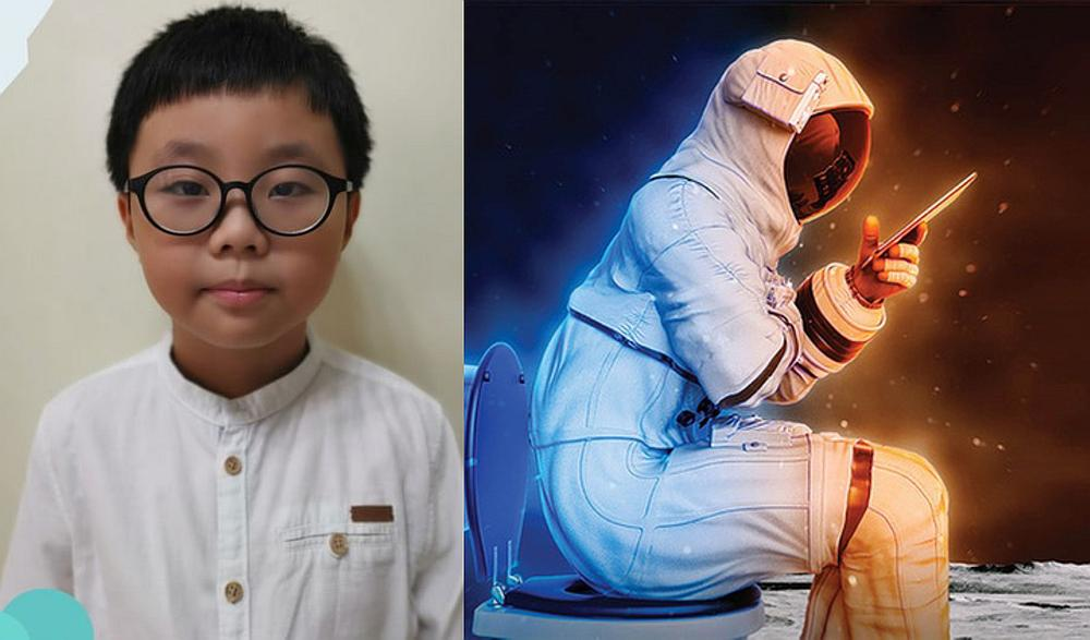 Zyson Kang Zy Shun wows Nasa with the simplicity and convenience of his invention. — Pictures from Facebook/IDiscoveryWorld and HeroX website