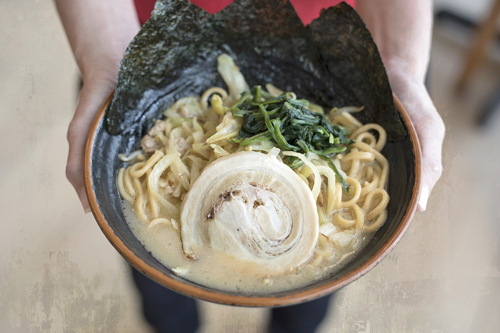 """'Iekei ramen' (""""home-style noodles"""") from Yokohama is now available in Malaysia. — Pictures by CK Lim"""