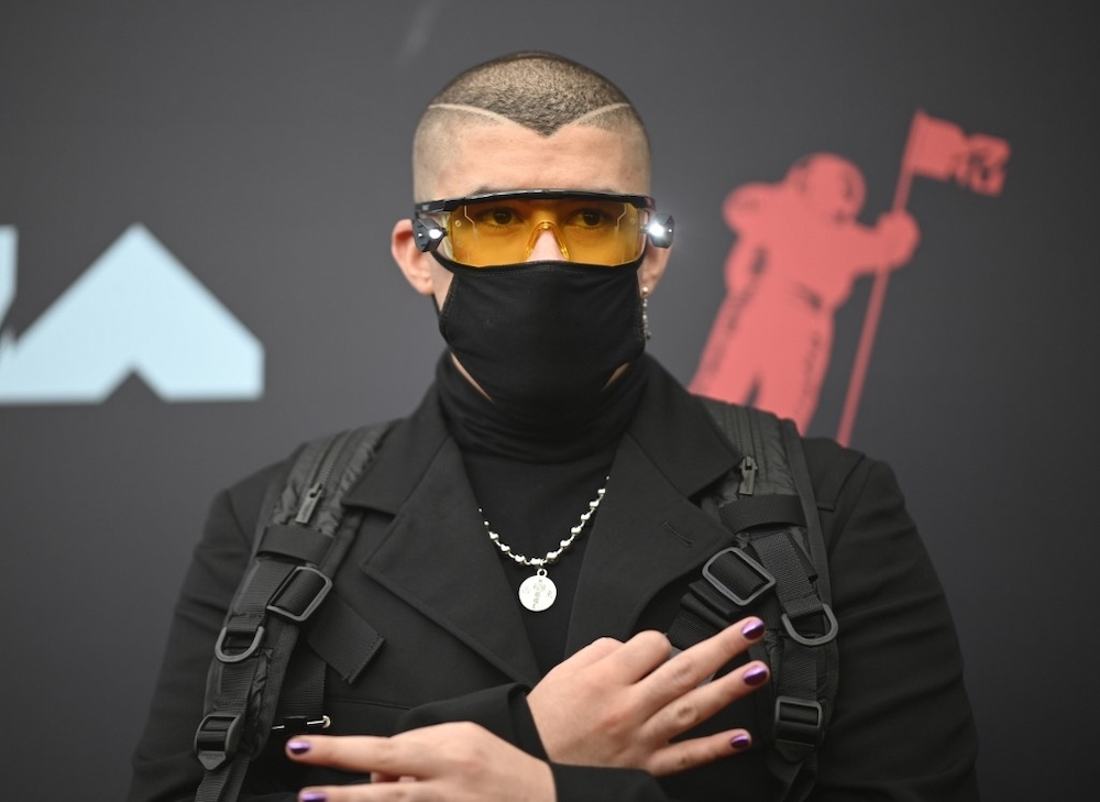 The Puerto Rican singer Bad Bunny is Spotify's most-streamed artist of 2020. — AFP pic