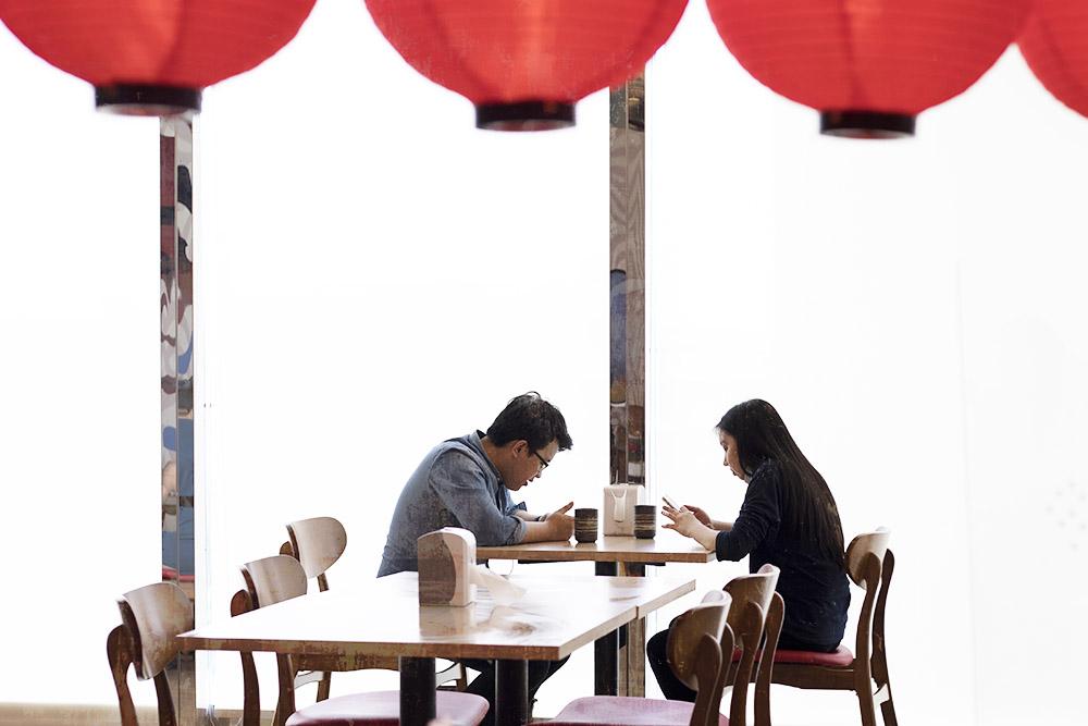 Ichikakuya's diners are a mix of Japanese expatriates and Malaysian ramen lovers.