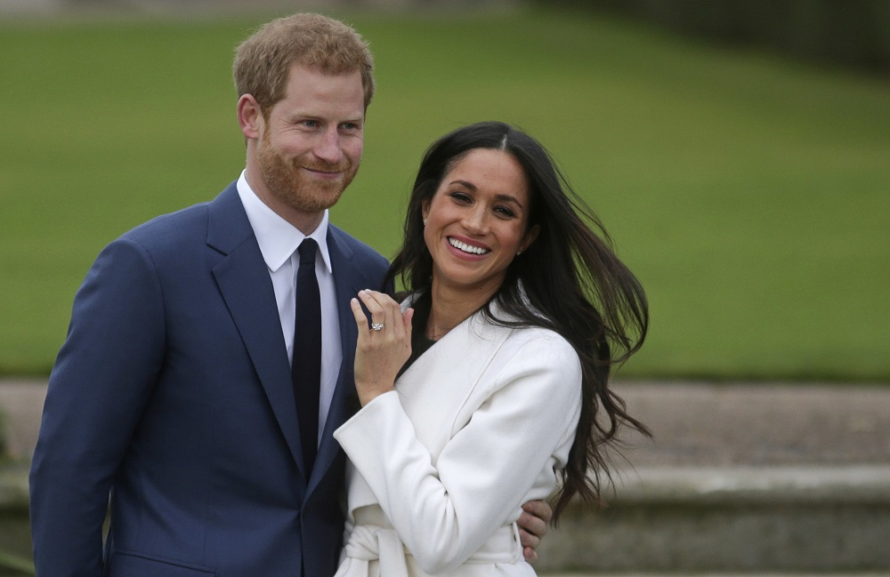 Harry and Meghan quit the British royal family and moved to California last year. — AFP pic