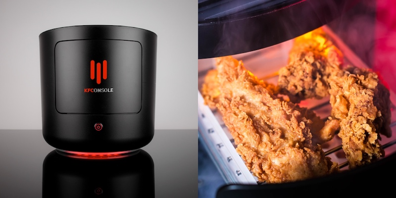 Fancy a piece of fried chicken in between your gaming sessions? — Pictures from Twitter/kfcgaming and Cooler Master website