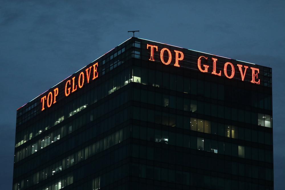 General view of Top Glove headquarters in Shah Alam December 10, 2020. — Reuters pic
