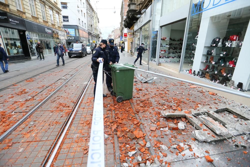 Girl Killed Many Injured As Earthquake Strikes Croatia Slovenia Shuts Nuclear Power Plant World Malay Mail