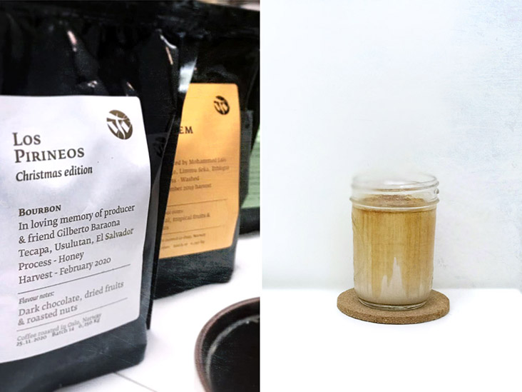 Seasonal beans include roasters such as Oslo's Tim Wendelboe (left). The iconic Dirty (right).