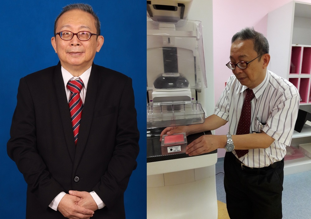 Dr Ng is widely regarded as the Malaysian pioneer in breast cancer research and advanced radiology. — Pictures courtesy of Dr Ng Kwan Hoong