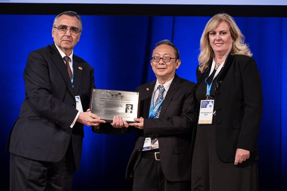 Dr Ng was the first scientist from a developing country to receive the prestigious Marie Sklodowska-Curie Award in 2018. — Picture courtesy of Dr Ng Kwan Hoong