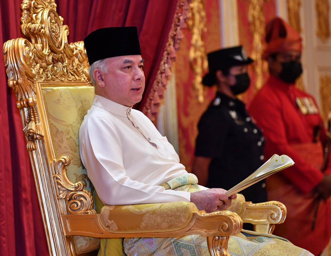 Sultan Nazrin also advised the people to prepare for the Aidilfitri celebration by following the new norms, to refrain from visiting places where large gatherings are held, and strictly adhering to the SOPs set by the National Security Council and the Health Ministry. — Picture via Twitter