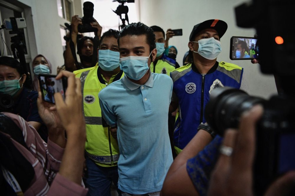 Syed Shah Iqmal faces imprisonment for up to 20 years, and shall also be liable to whipping, if found guilty. — Bernama pic