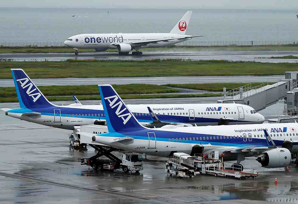 Japan is reported to be looking at temporarily slashing its aviation fuel tax by 80 per cent at most to help the airline industry. — Reuters pic