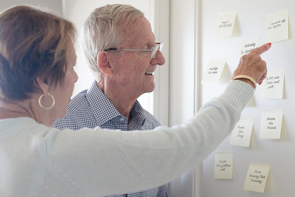 Around 50 million people live with Alzheimer's, a degenerative brain disease that accounts for more than half of global dementia cases. — MonicaNinker / Istock.com pic via AFP