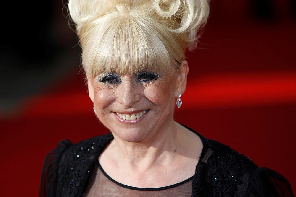 Actress Barbara Windsor of television soap opera 'Eastenders' arrives for the British Academy Television Awards 2009 at the Royal Festival Hall in London April 26, 2009. — Reuters pic