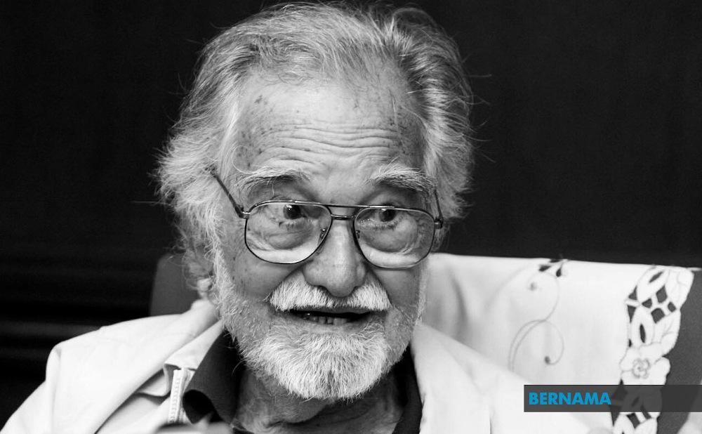 Royal Professor Ungku Abdul Aziz Abdul Hamid died at 98 of old age December 15, 2020. — Picture via Twitter/Bernama