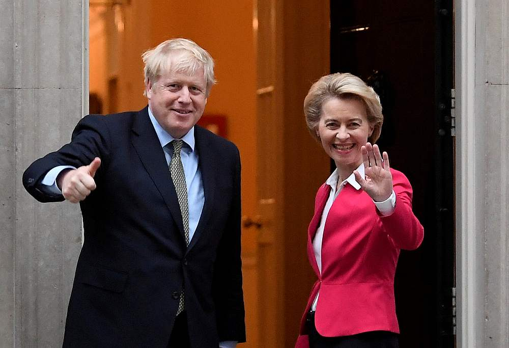 Britain, EU extend post-Brexit trade talks past Sunday deadline