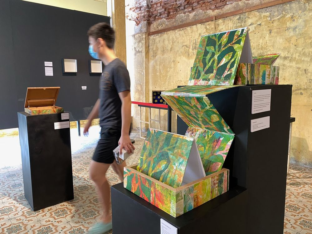 The Boxed In exhibition is open from 11am to 7pm until December 31.