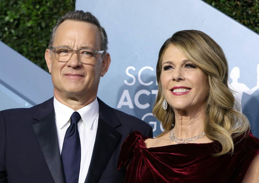 Tom Hanks and his wife, actress and singer Rita Wilson, revealed in March that they had tested positive for the coronavirus while in Australia for a film shoot. — Reuters pic