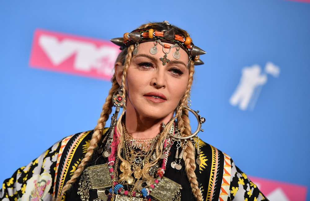 Madonna was in the middle of a world tour in France when she started feeling sick. — AFP pic