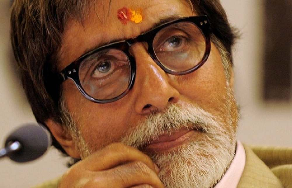 Amitabh received an outpouring of support online after news of his diagnosis was made public. — AFP pic