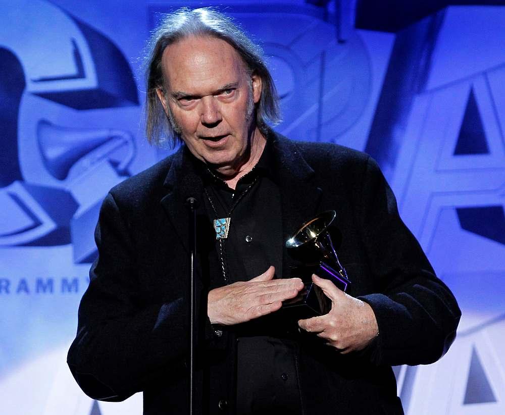 Neil Young ends copyright suit against Donald Trump