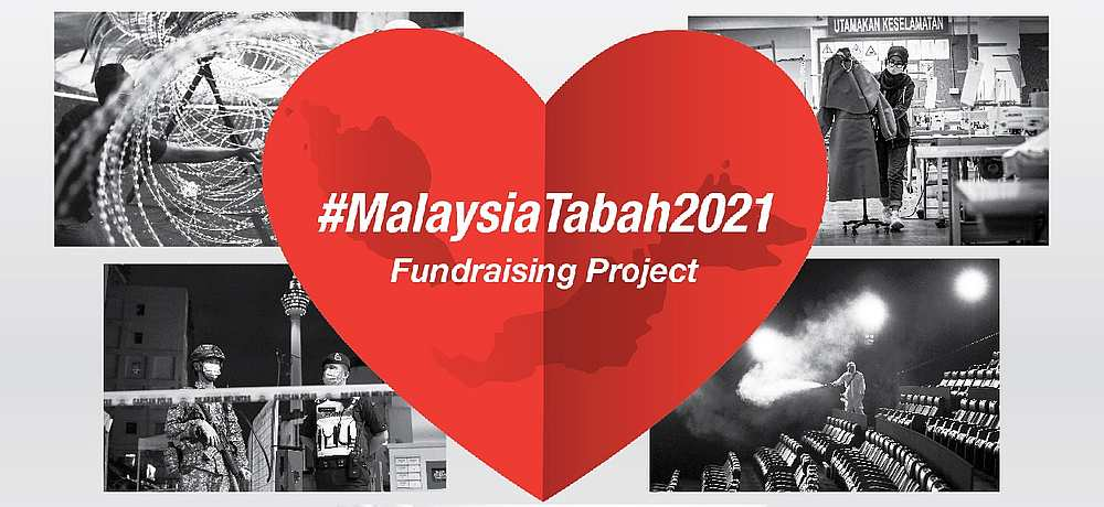 The Malaysia Tabah 2021 initiative was launched two days ago. — Picture courtesy of Sharp Electronics Malaysia