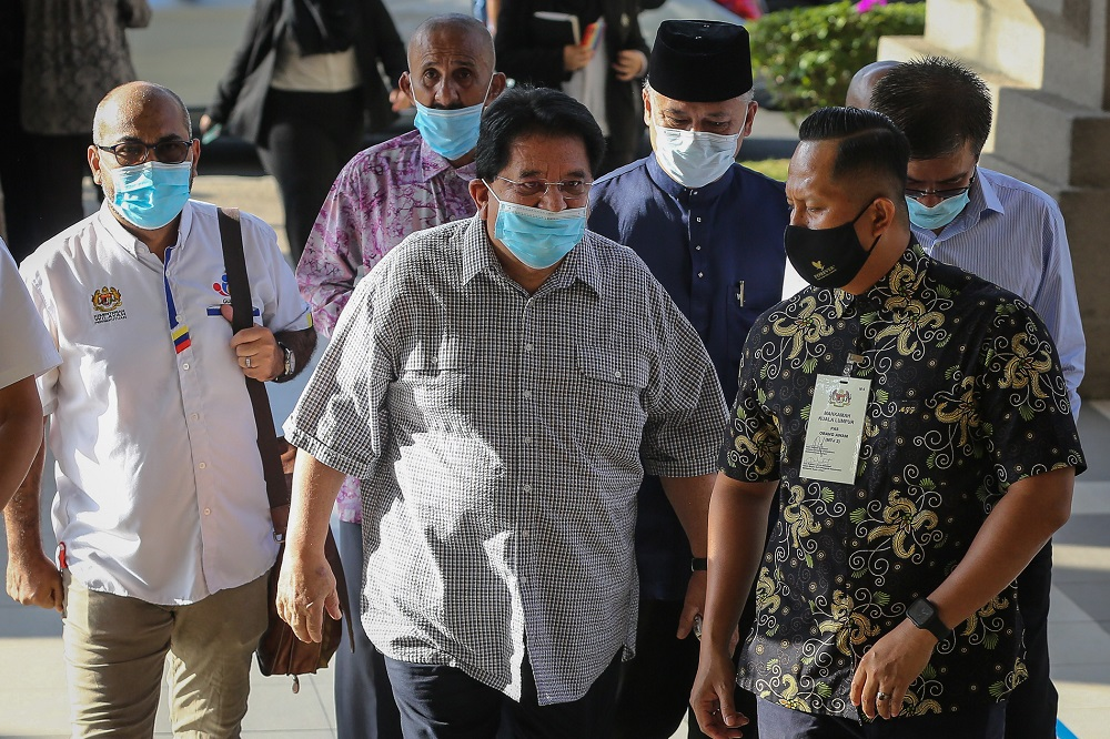 On December 21 last year, the Kuala Lumpur High Court sentenced Tengku Adnan to 12-month jail and imposed a RM2 million fine on him after finding him guilty. ― Picture by Yusof Mat Isa