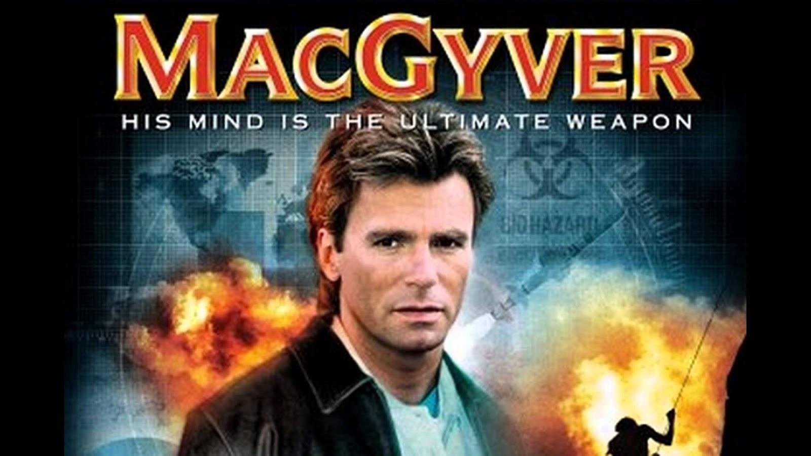 MacGyver于1985年的宣传海报。 -图片摘自网络-