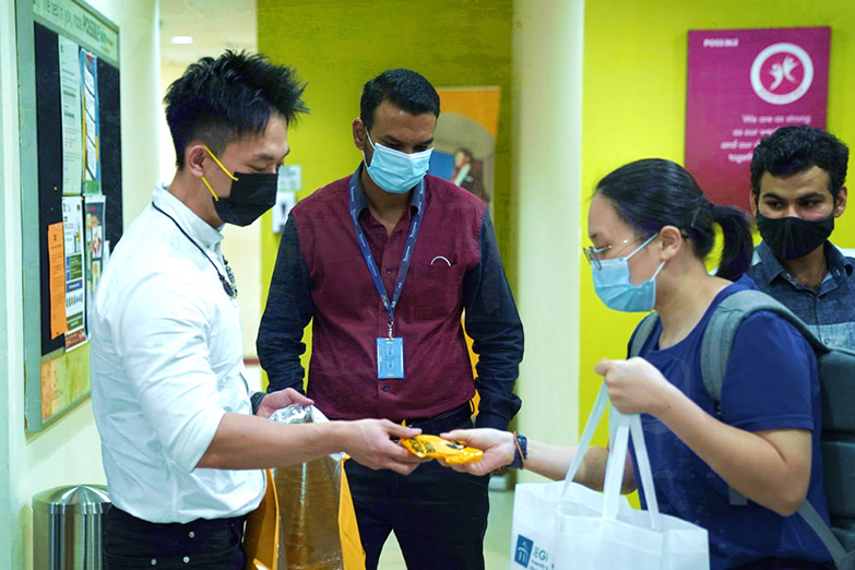 Kuan was invited by Segi College International Subang Jaya to share his knowledge of dieting and workouts during the Segi Fat Loss Challenge 2021.
