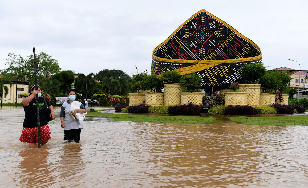 Number of Sabah flood evacuees down to 94