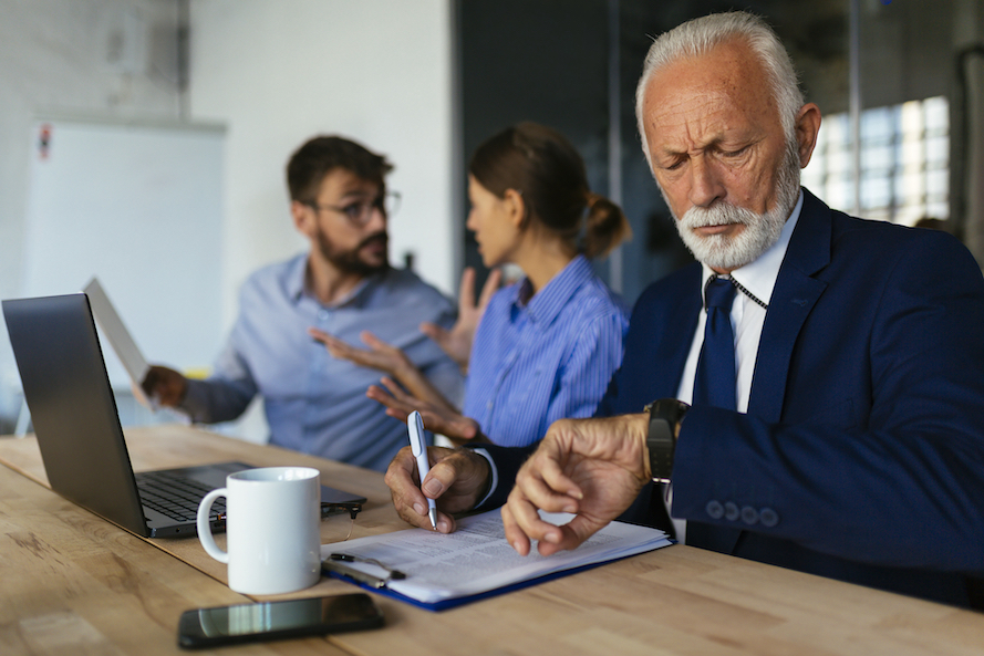 According to a survey, the three most annoying kinds of co-workers are the phony nice-guy, the phony hard-worker, and the bootlicker. — Picture courtesy of ciricvelibor / IStock.com via ETX Studio