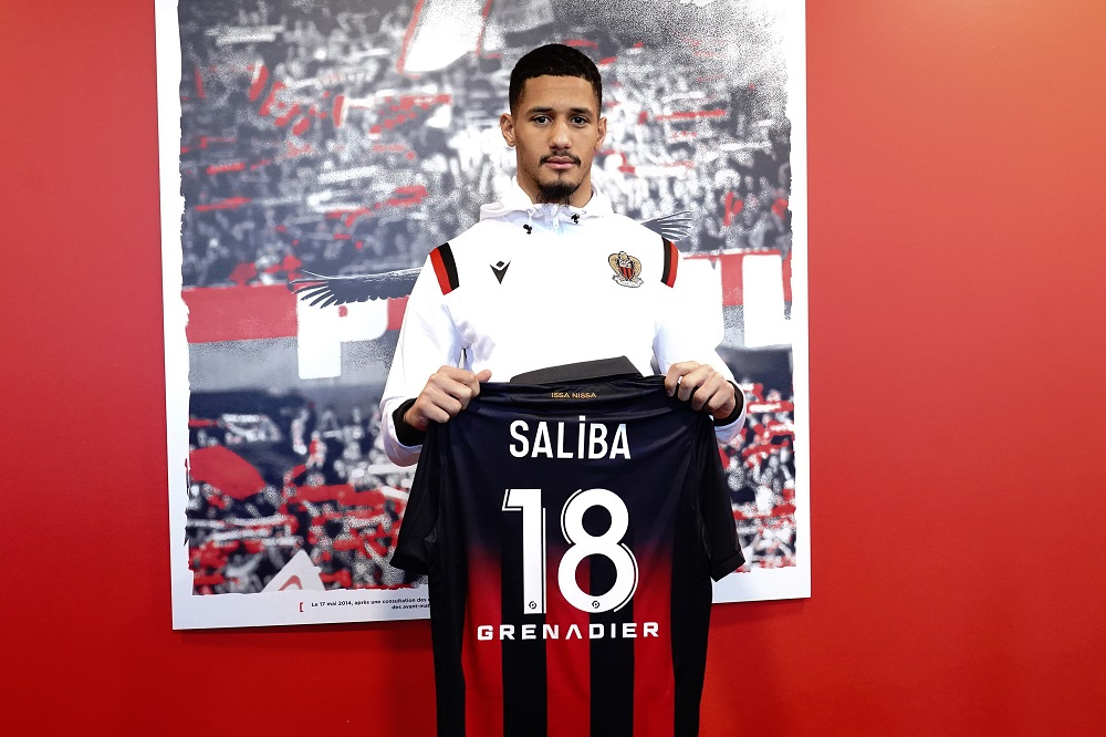 William Saliba poses during a press conference in Nice January 8, 2021. — Reuters pic