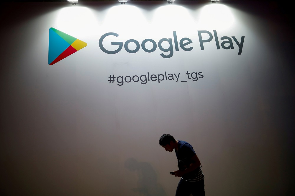 Google, which dominates India's app market with over 98 per cent of smartphones using its Android platform, said its policies were 'continuously updated in response to new and emerging threats and bad actors'. — Reuters pic
