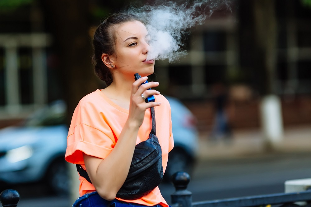 Research suggests that starting tobacco products, including e-cigarettes, before the age of 18 is a major risk factor for people becoming daily cigarette smokers. — IStock.com pic