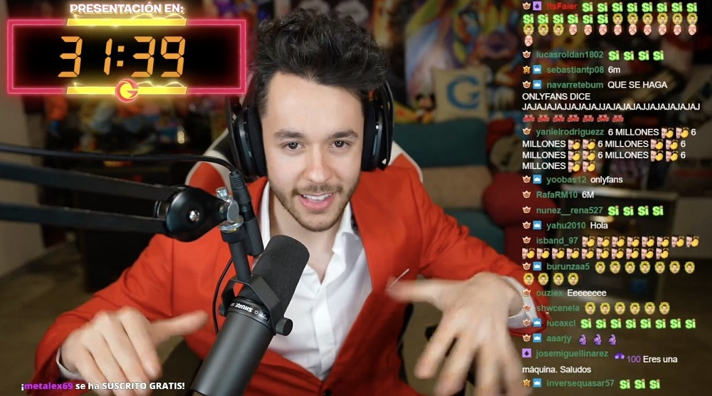 Avid steamer 'TheGrefg' Martinez recently set a new viewing record on the Twitch platform. — Picture courtesy of Twitch and David 'TheGrefg' Martinez